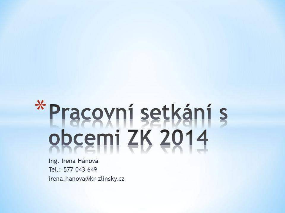 Pracovní setkání s obcemi ZK 2014
