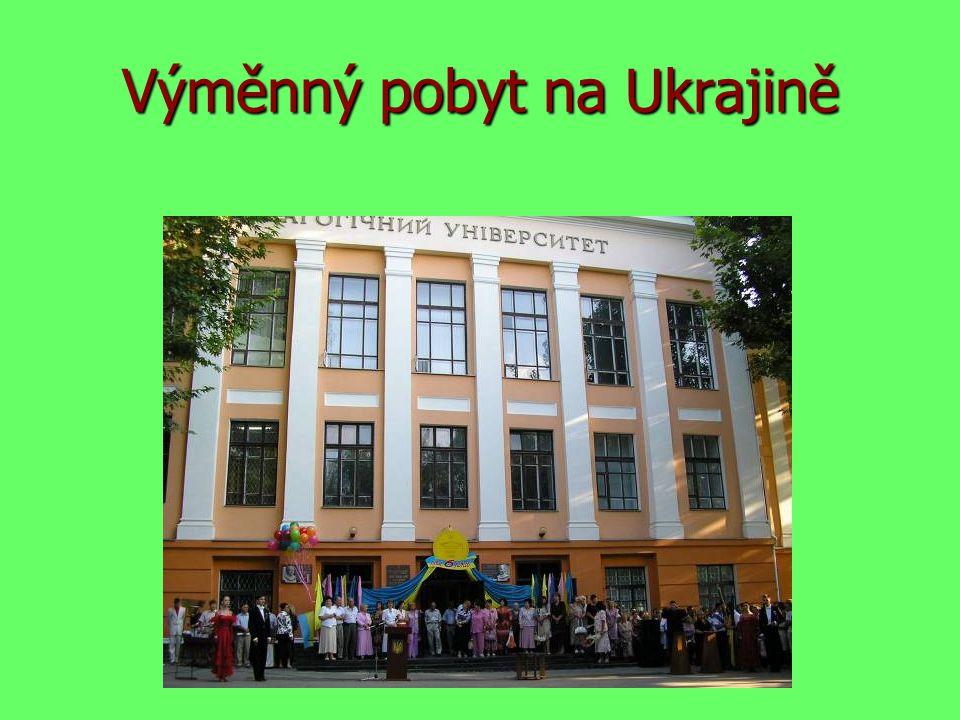 Výměnný pobyt na Ukrajině