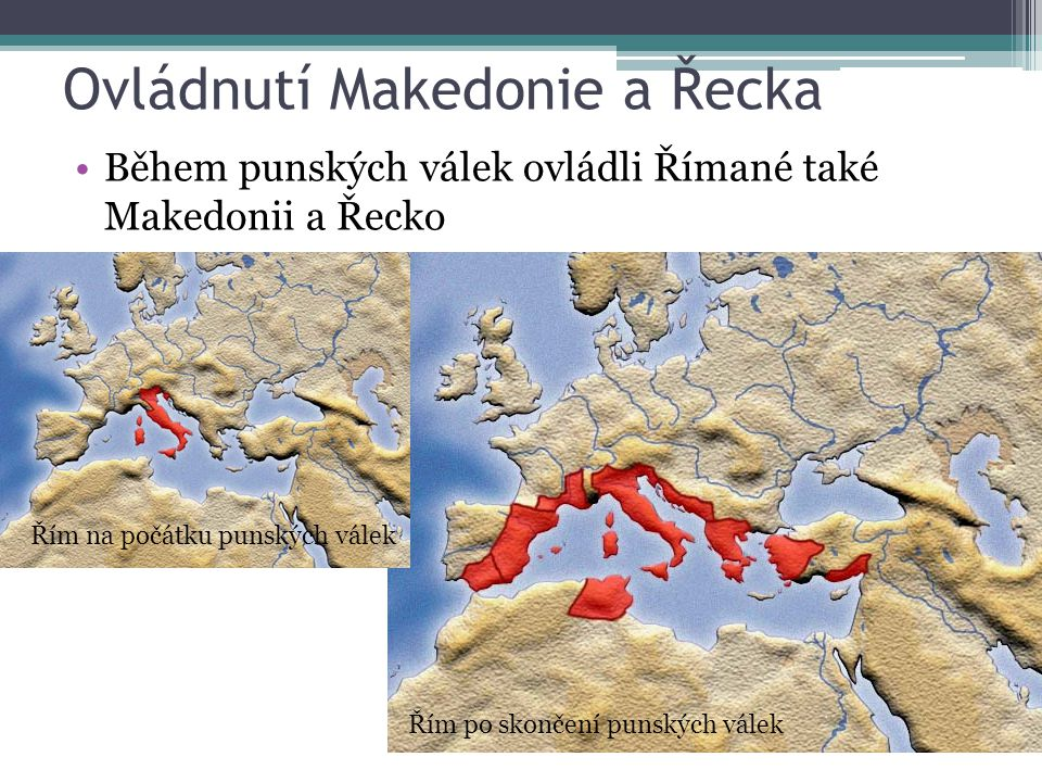 Ovládnutí Makedonie a Řecka