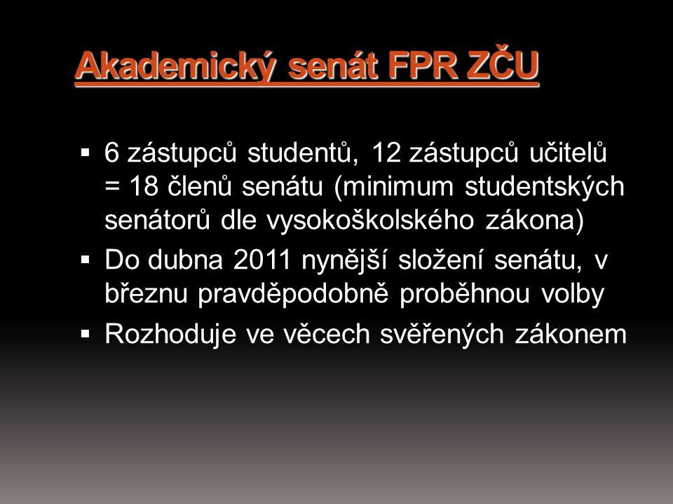 Akademický senát FPR ZČU