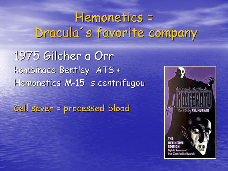 Hemonetics = Dracula´s favorite company