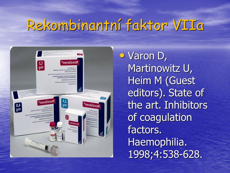 Rekombinantní faktor VIIa