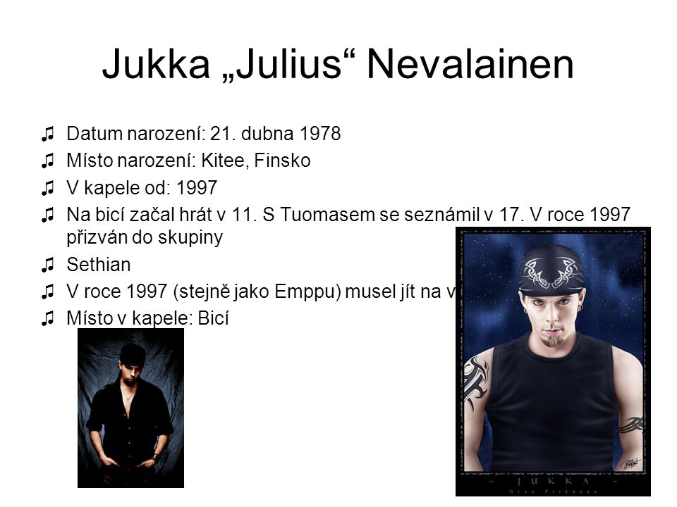 "Jukka ""Julius Nevalainen"