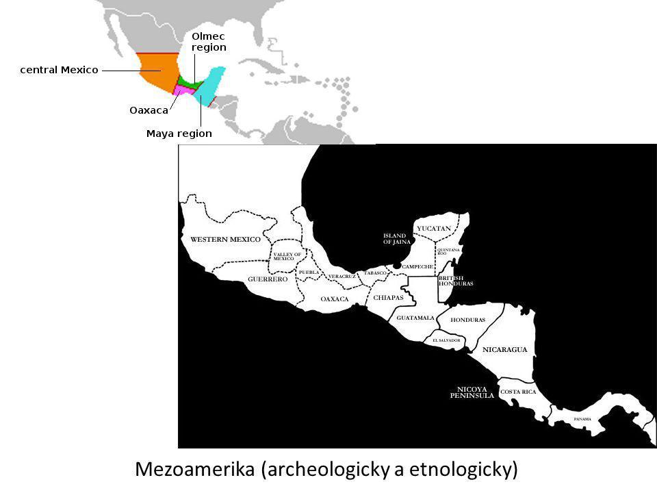 Mezoamerika (archeologicky a etnologicky)