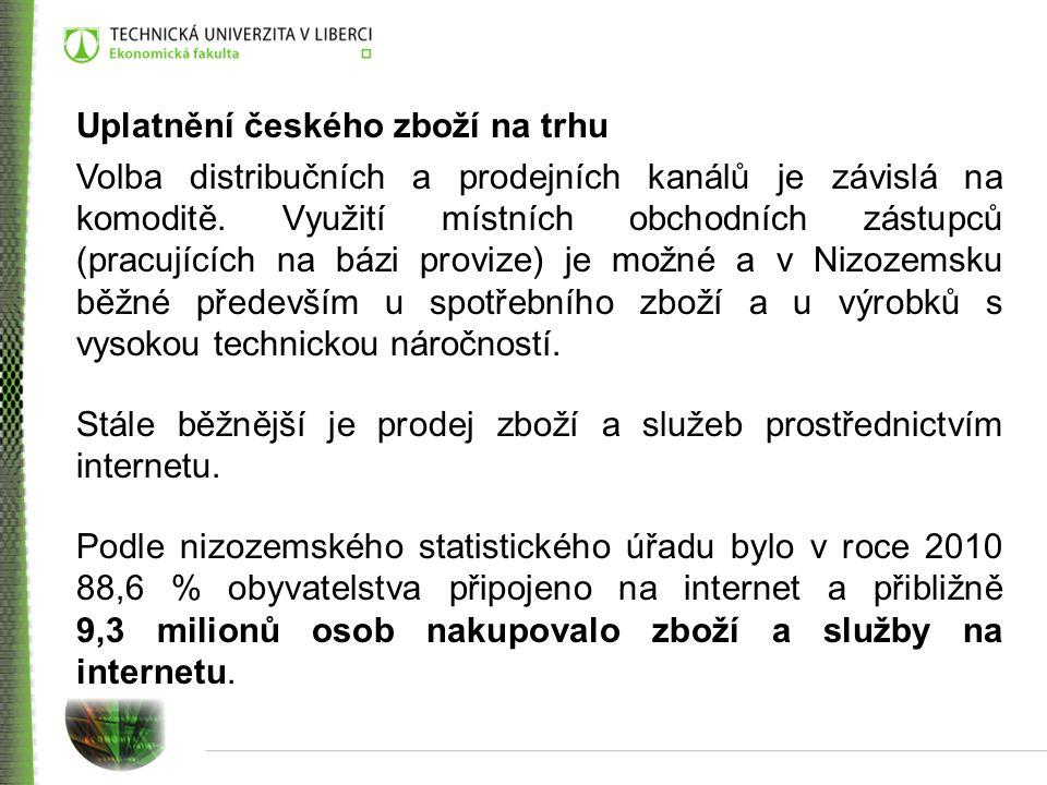 Uplatnění českého zboží na trhu