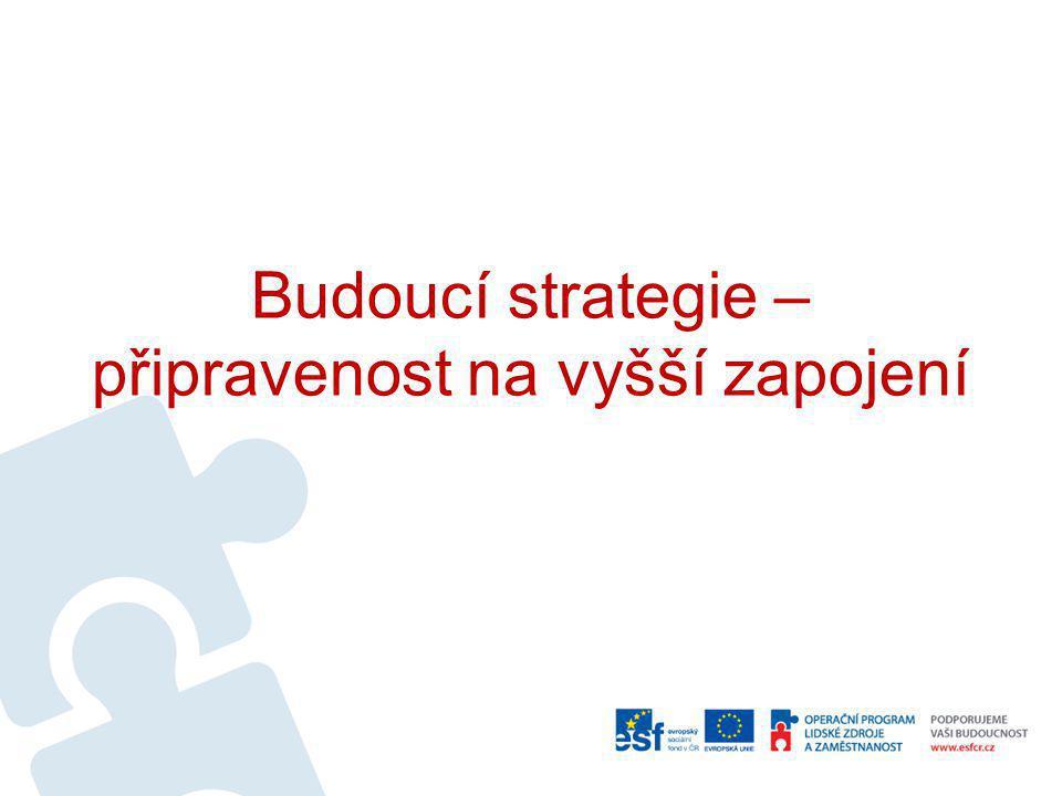 Budoucí strategie – připravenost na vyšší zapojení