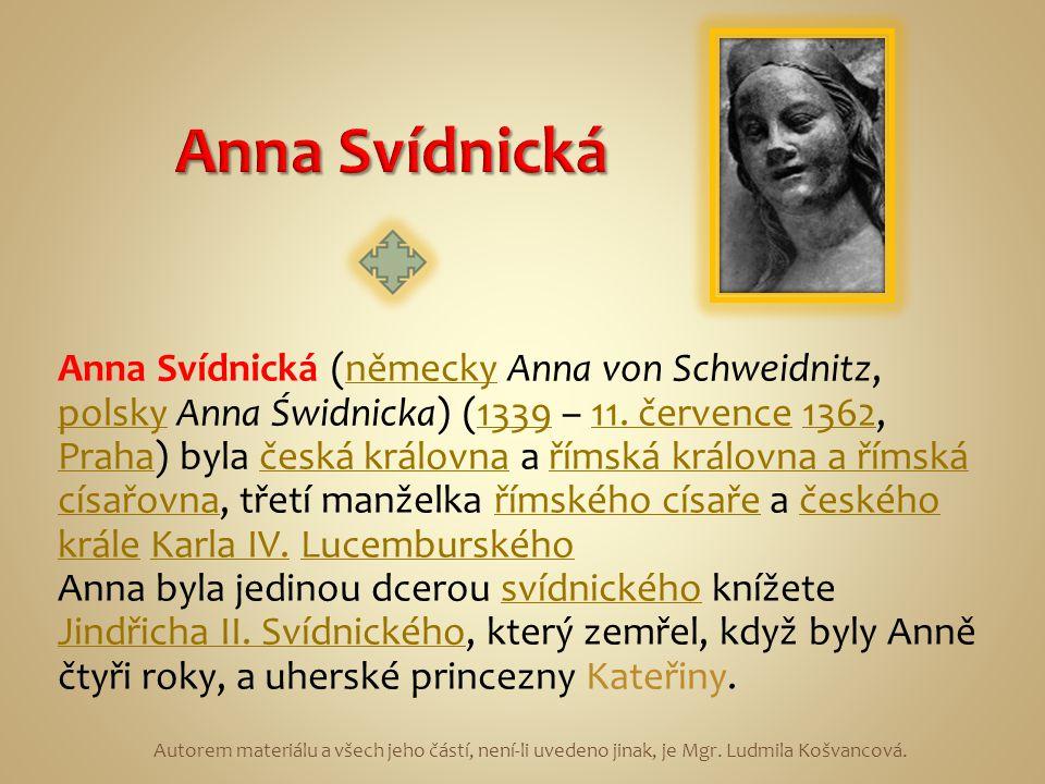 Anna Svídnická