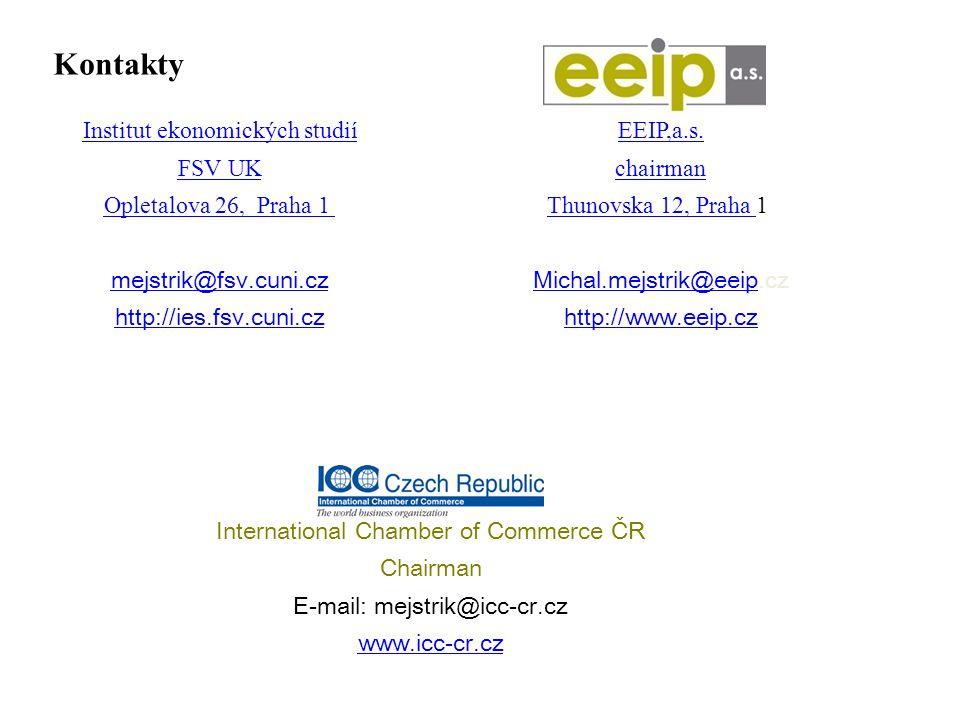 Kontakty Institut ekonomických studií FSV UK Opletalova 26, Praha 1