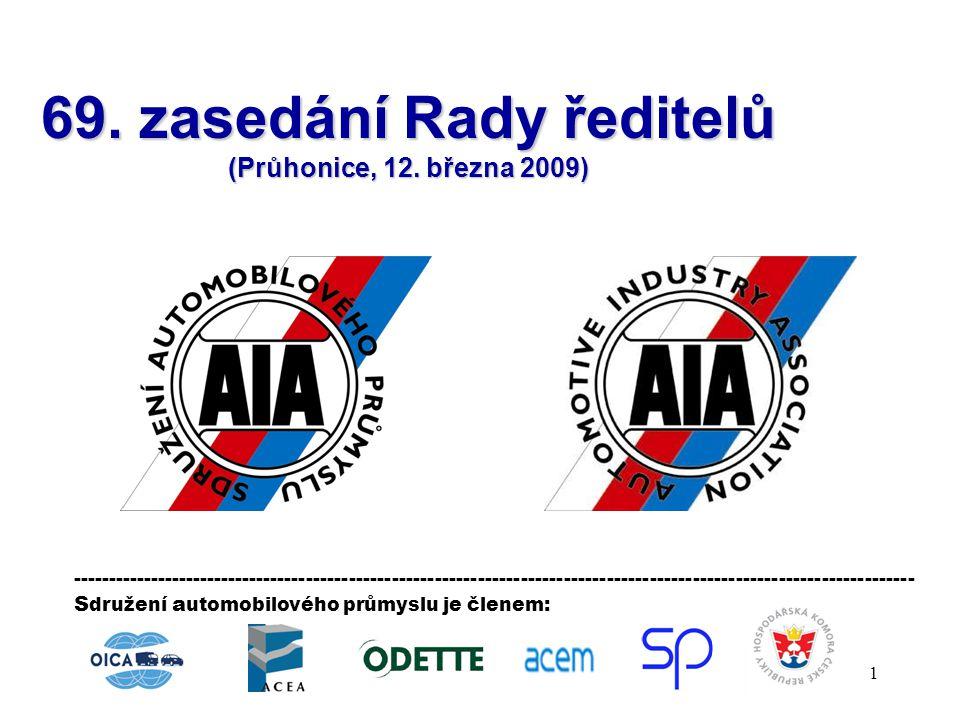 69. zasedání Rady ředitelů (Průhonice, 12. března 2009)