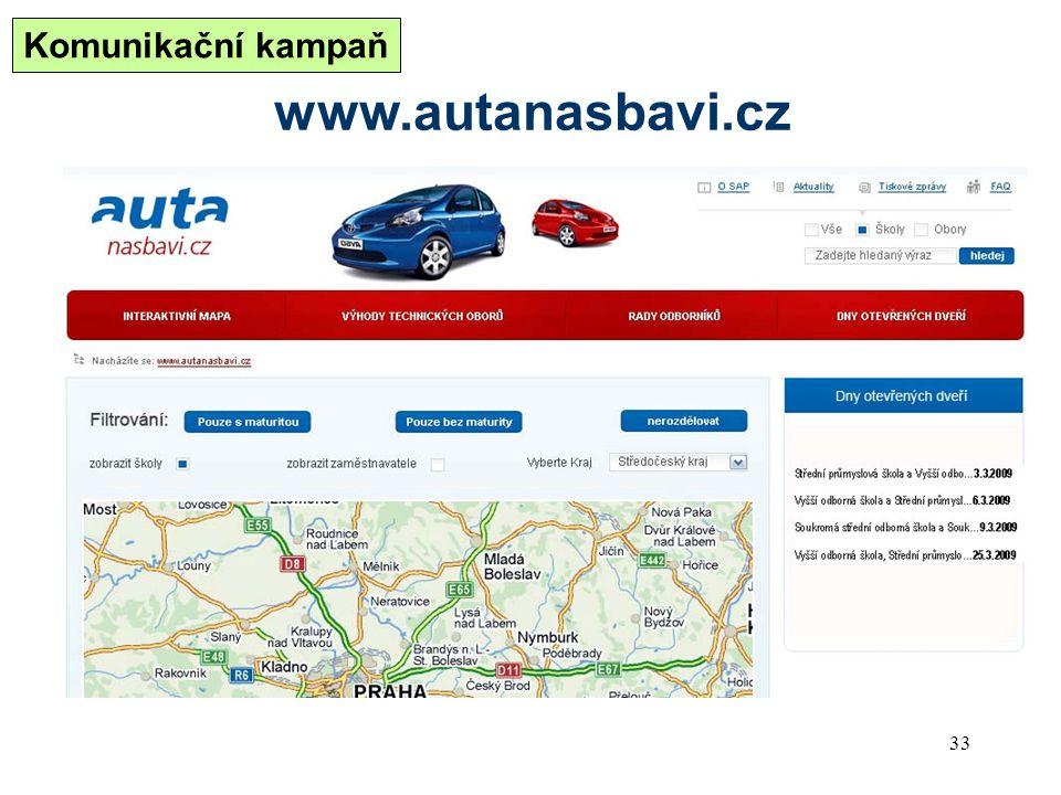 Komunikační kampaň www.autanasbavi.cz