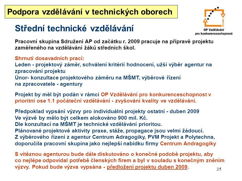 Střední technické vzdělávání