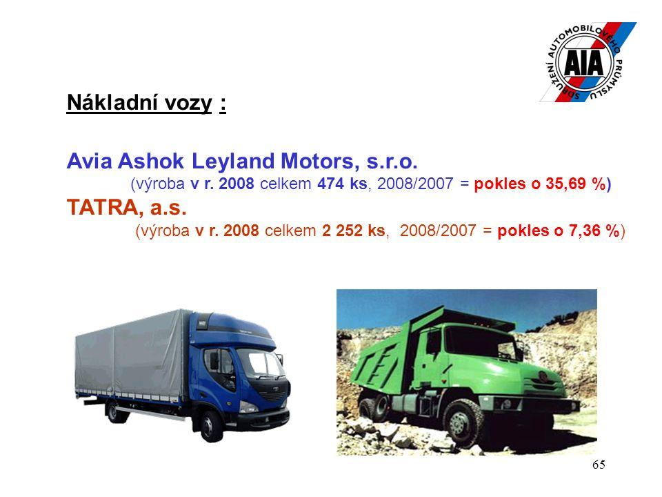 Avia Ashok Leyland Motors, s.r.o. TATRA, a.s.