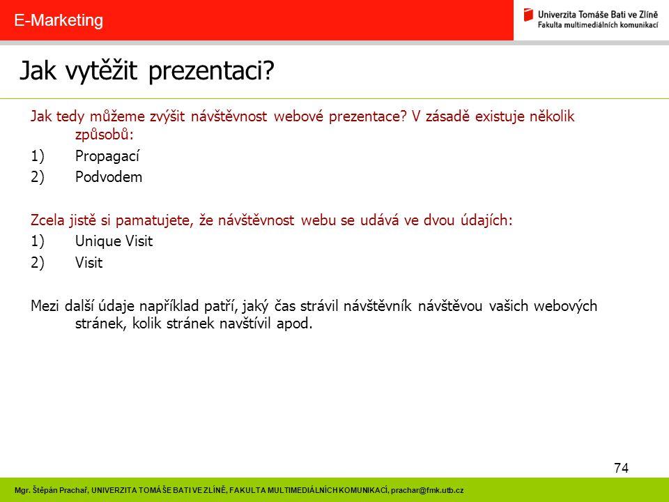 Jak vytěžit prezentaci