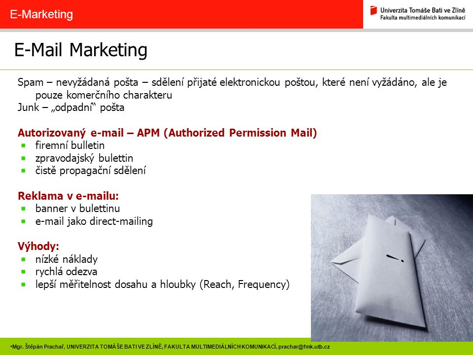 E-Mail Marketing E-Marketing