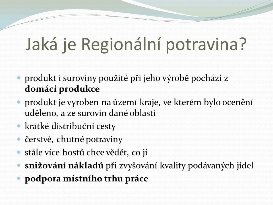 Jaká je Regionální potravina