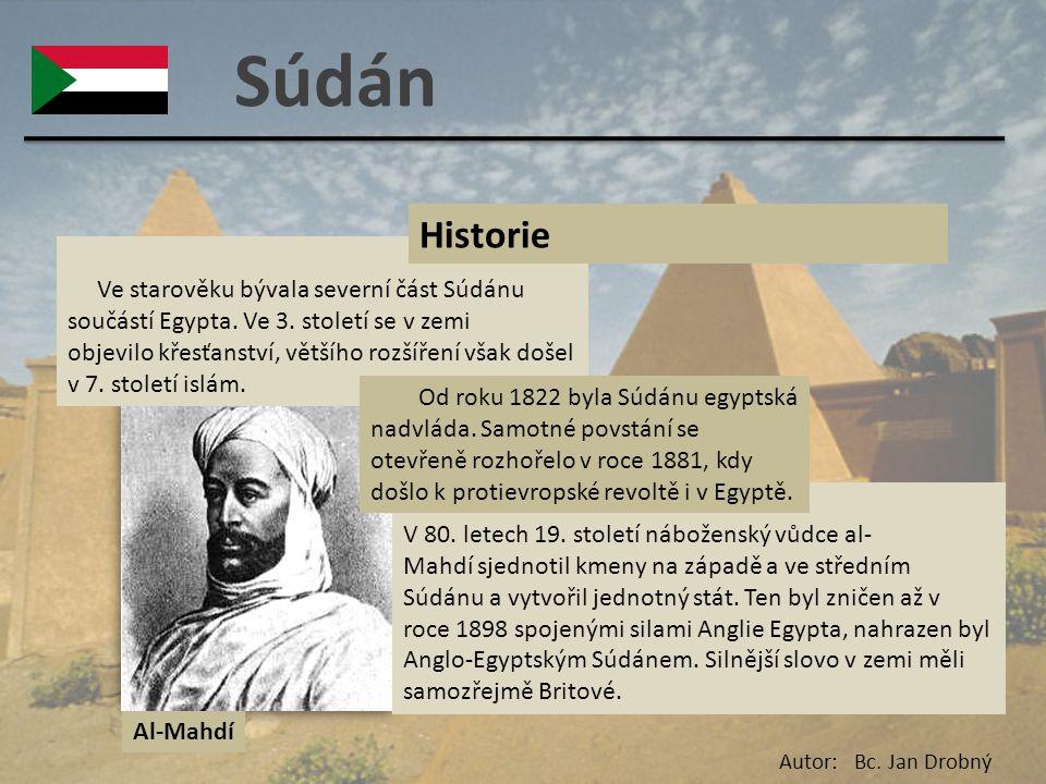 Súdán Historie.