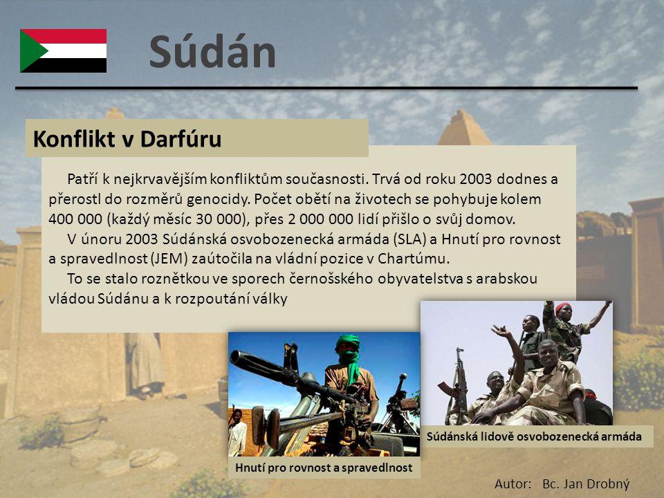 Súdán Konflikt v Darfúru