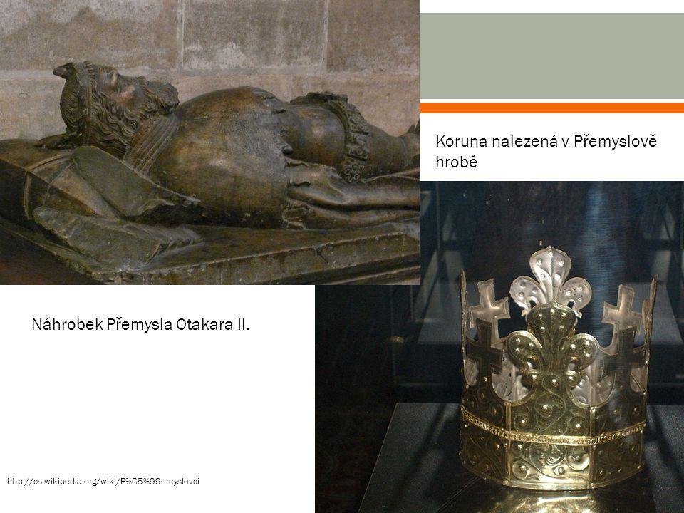 Koruna nalezená v Přemyslově hrobě
