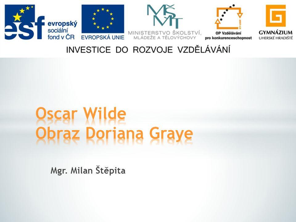 Oscar Wilde Obraz Doriana Graye