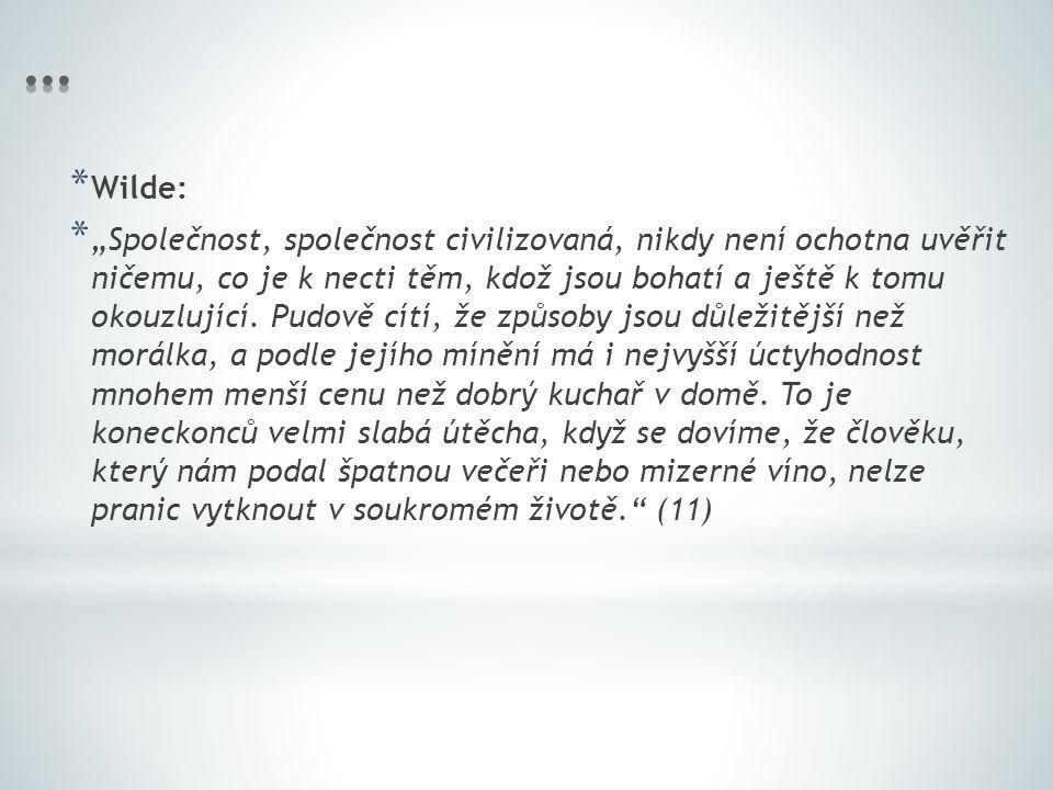 … Wilde:
