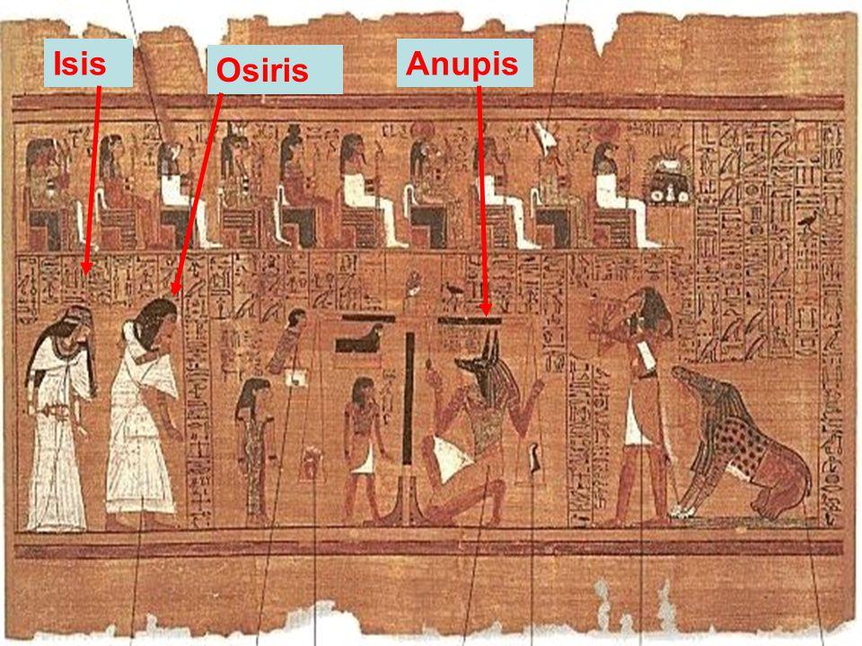 Isis Anupis Osiris