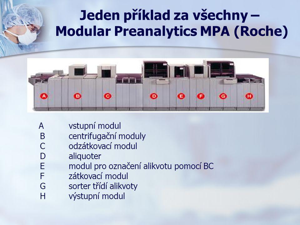 Jeden příklad za všechny – Modular Preanalytics MPA (Roche)