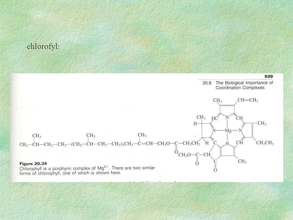 chlorofyl: