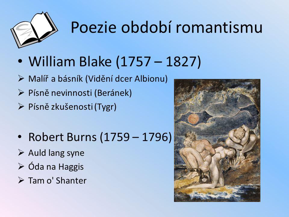 Poezie období romantismu