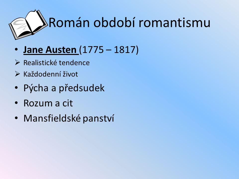 Román období romantismu
