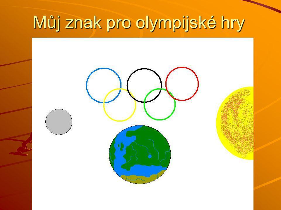 Můj znak pro olympijské hry