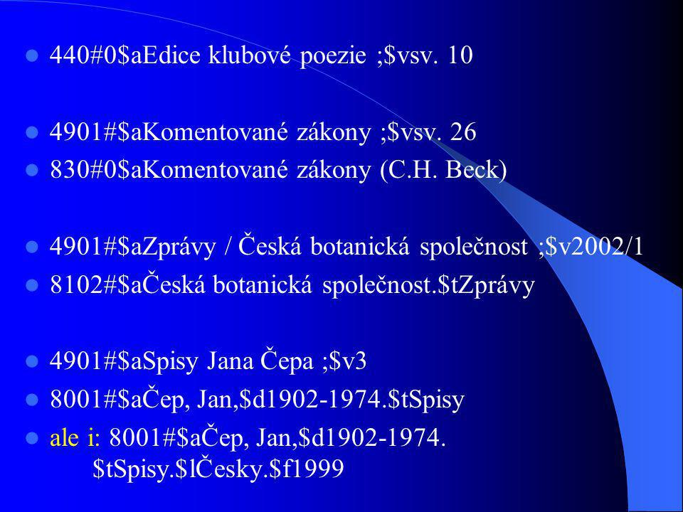 440#0$aEdice klubové poezie ;$vsv. 10