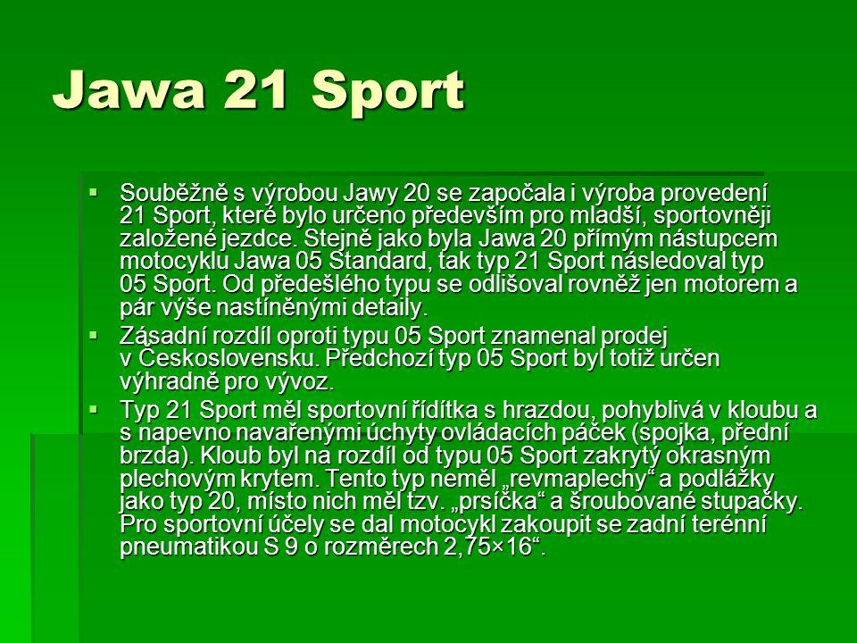 Jawa 21 Sport