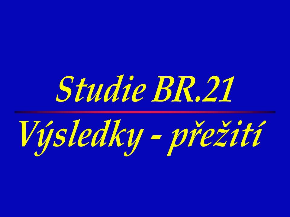 Studie BR.21 Výsledky - přežití