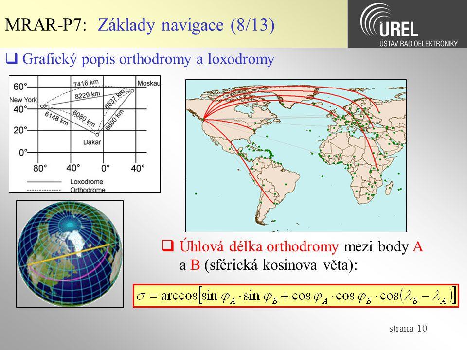 MRAR-P7: Základy navigace (8/13)