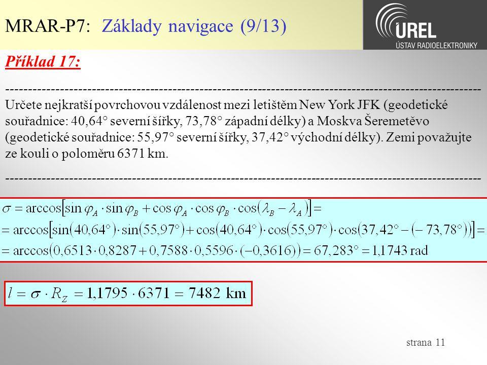 MRAR-P7: Základy navigace (9/13)