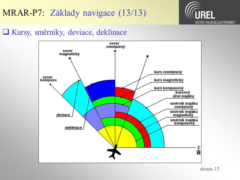 MRAR-P7: Základy navigace (13/13)