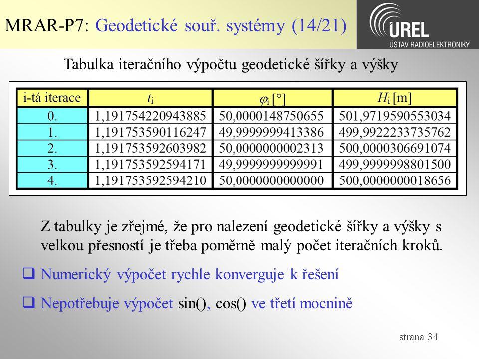 MRAR-P7: Geodetické souř. systémy (14/21)