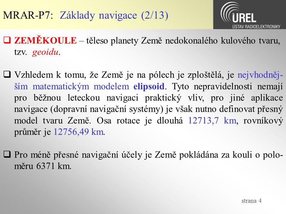 MRAR-P7: Základy navigace (2/13)