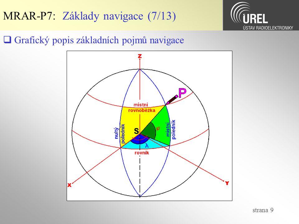 MRAR-P7: Základy navigace (7/13)