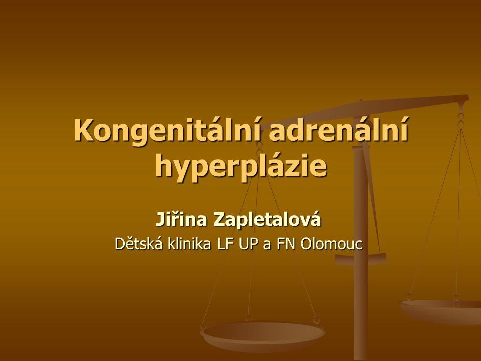 Kongenitální adrenální hyperplázie