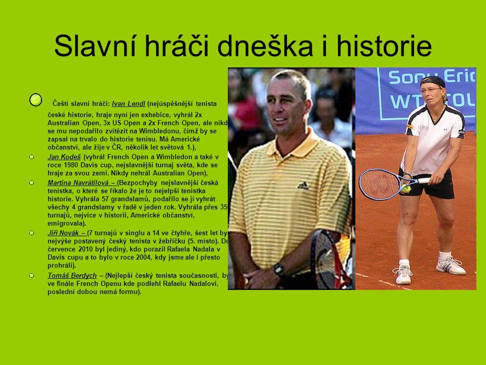 Slavní hráči dneška i historie