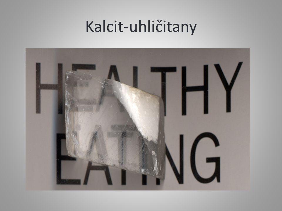 Kalcit-uhličitany