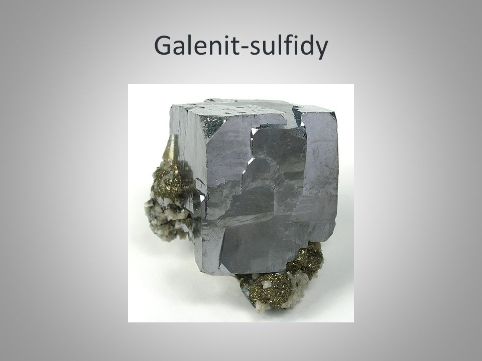 Galenit-sulfidy