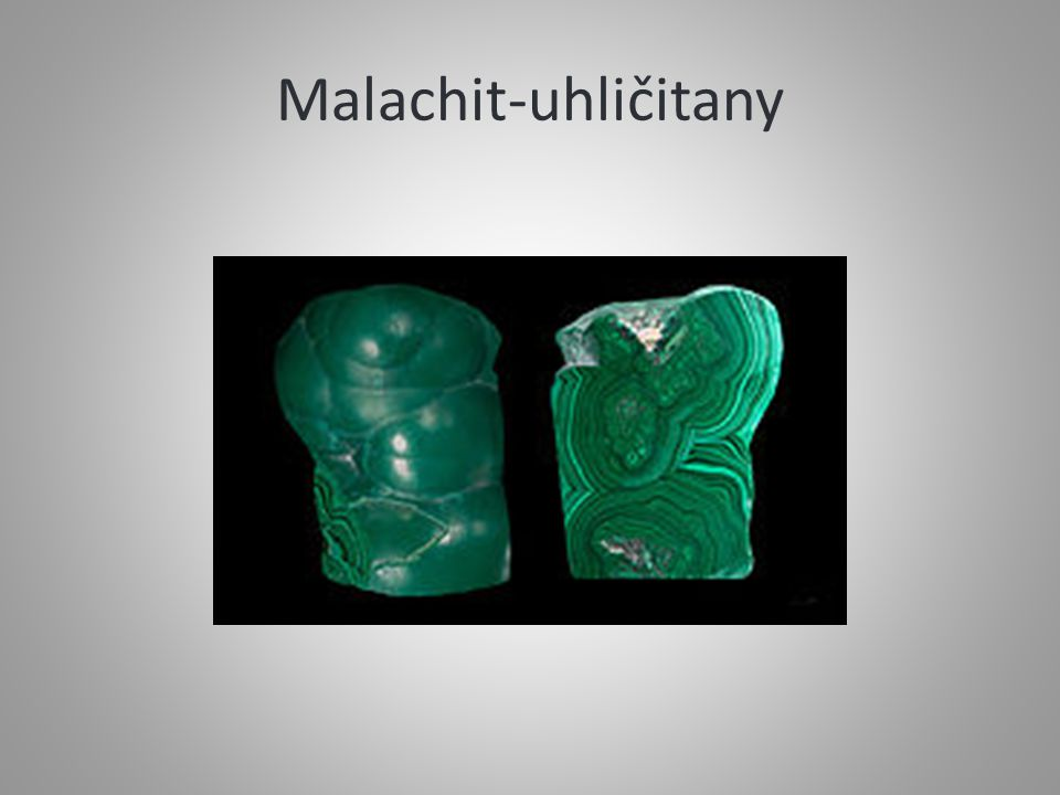 Malachit-uhličitany