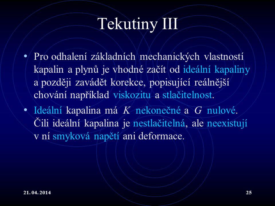 Tekutiny III