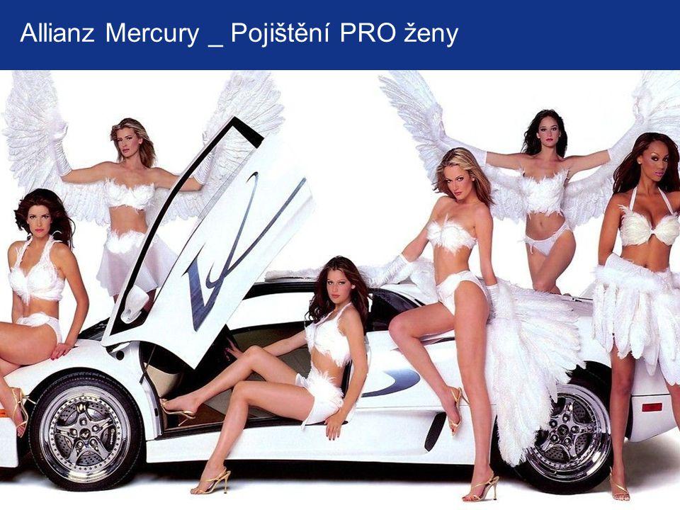 Allianz Mercury _ Pojištění PRO ženy