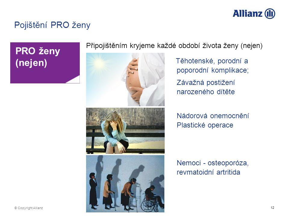 PRO ženy (nejen) Pojištění PRO ženy