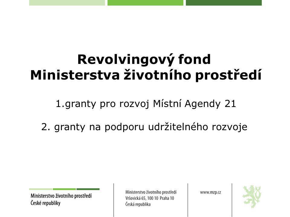 Ministerstva životního prostředí