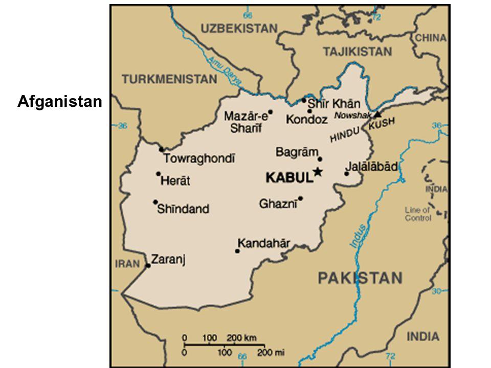 A Afganistan