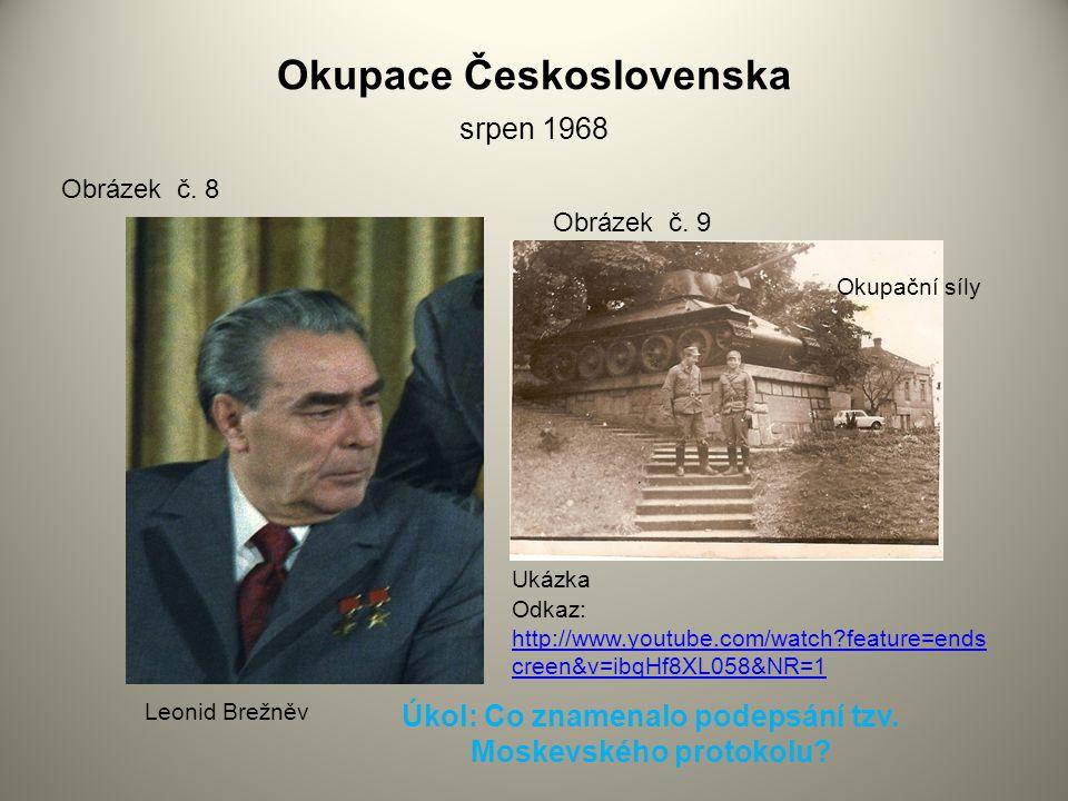 Okupace Československa srpen 1968